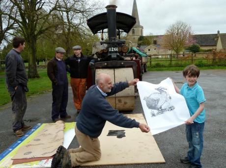 Linocut workshops