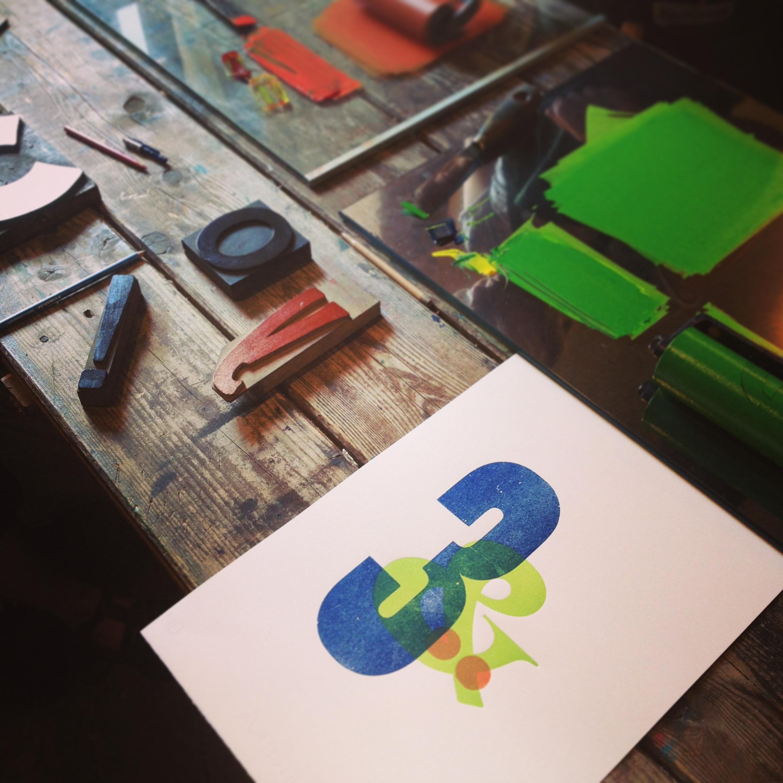 letterpess print