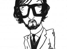 Jarvis Cocker linocut