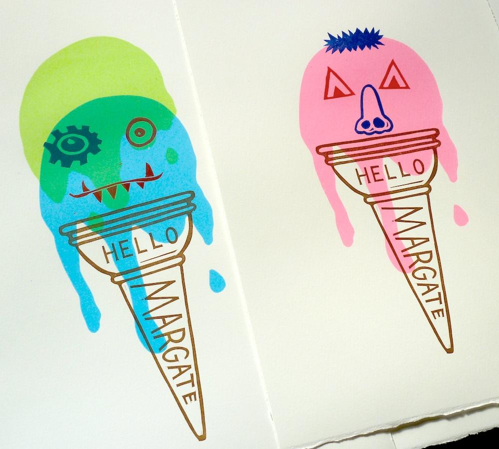 Ice Cream Monster prints