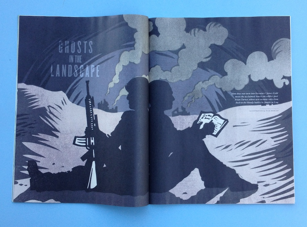 Ghosts in The Landscape article about Brian Turner