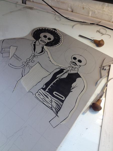 cowboy skeletons