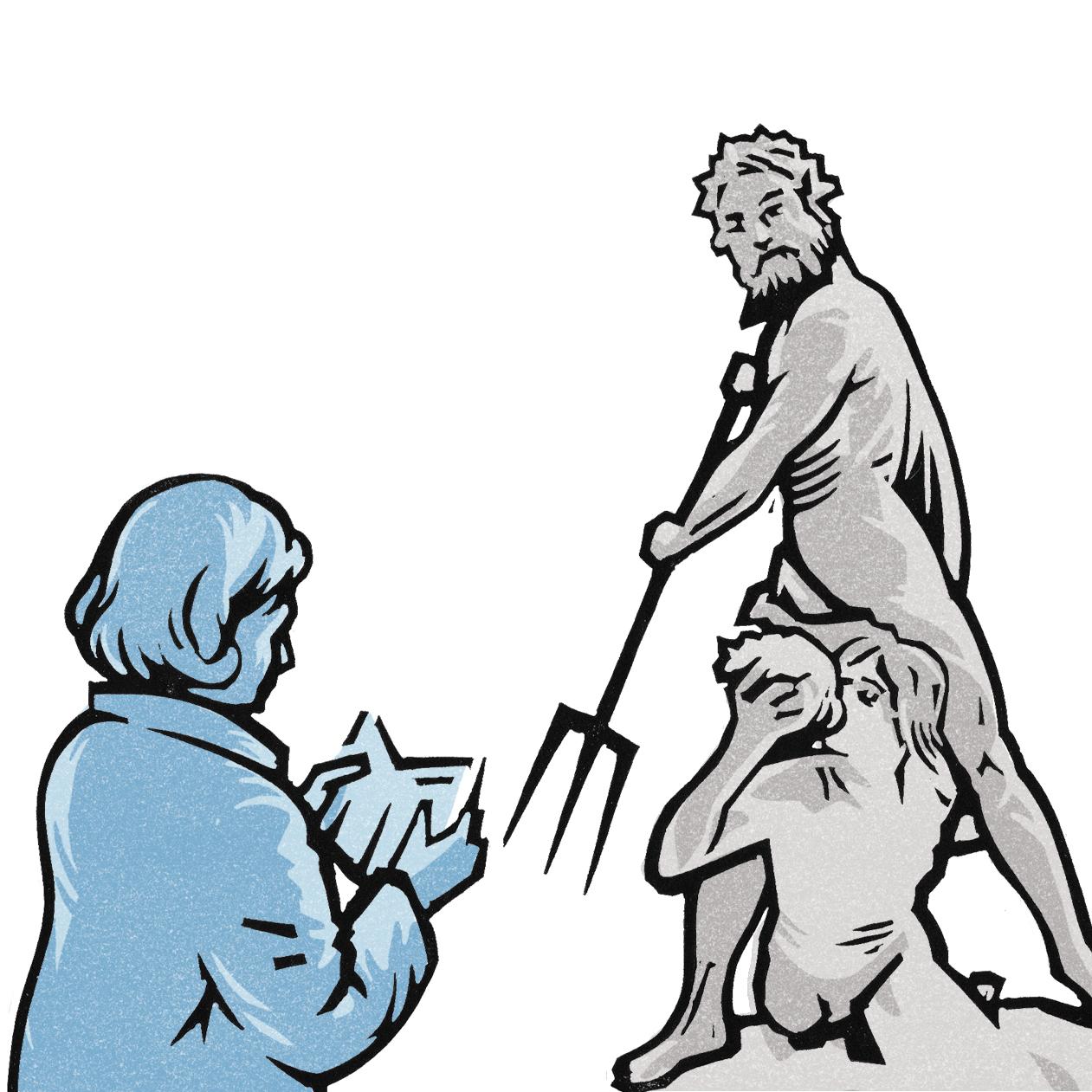 linocut illustration